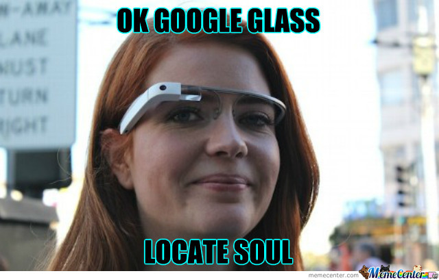 A Ginger Gets Google Glasses.