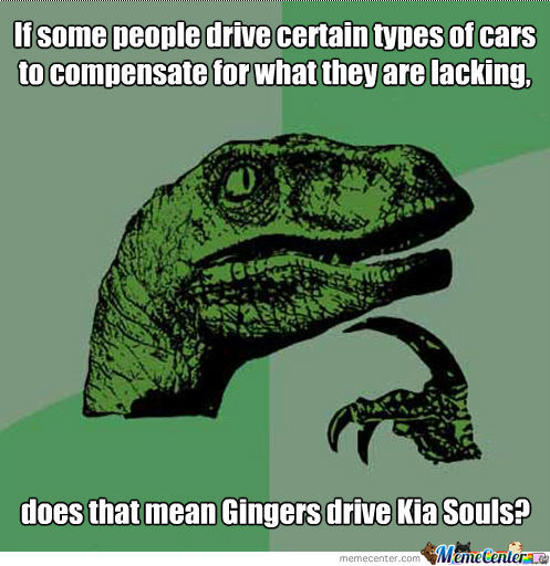 A Ginger's Car . . .