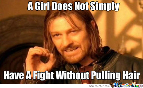 A Girl Does Not Simply.