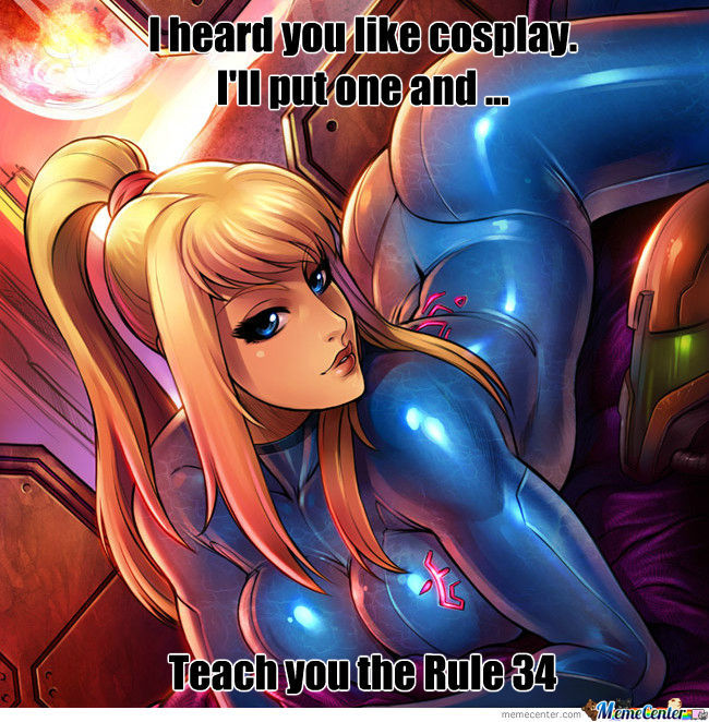 A Good Way To Learn The Rule 34 With Horny Samus