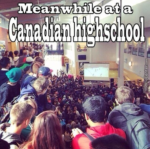 A Highschool In Calgary