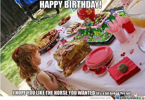 A Horse For Birthday