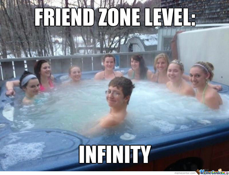 A Moment Of Silence For Our Brother In The Friend Zone
