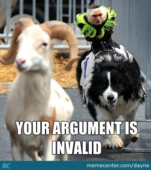 A Monkey Riding A Border Collie Chasing A Goat