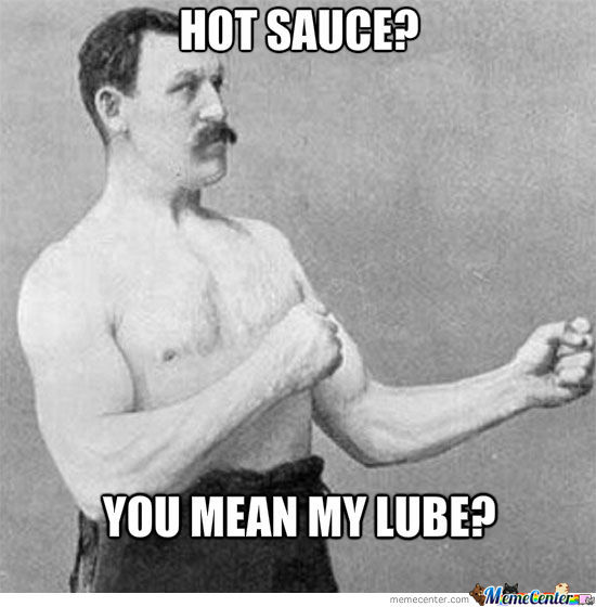 A New Way To Spice Up Your Sex Life Brought To You By Overly Manly Man