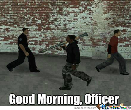 A Normal Day In Gta