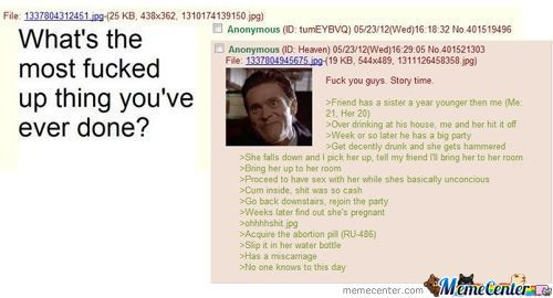 A Normal Day On 4Chan
