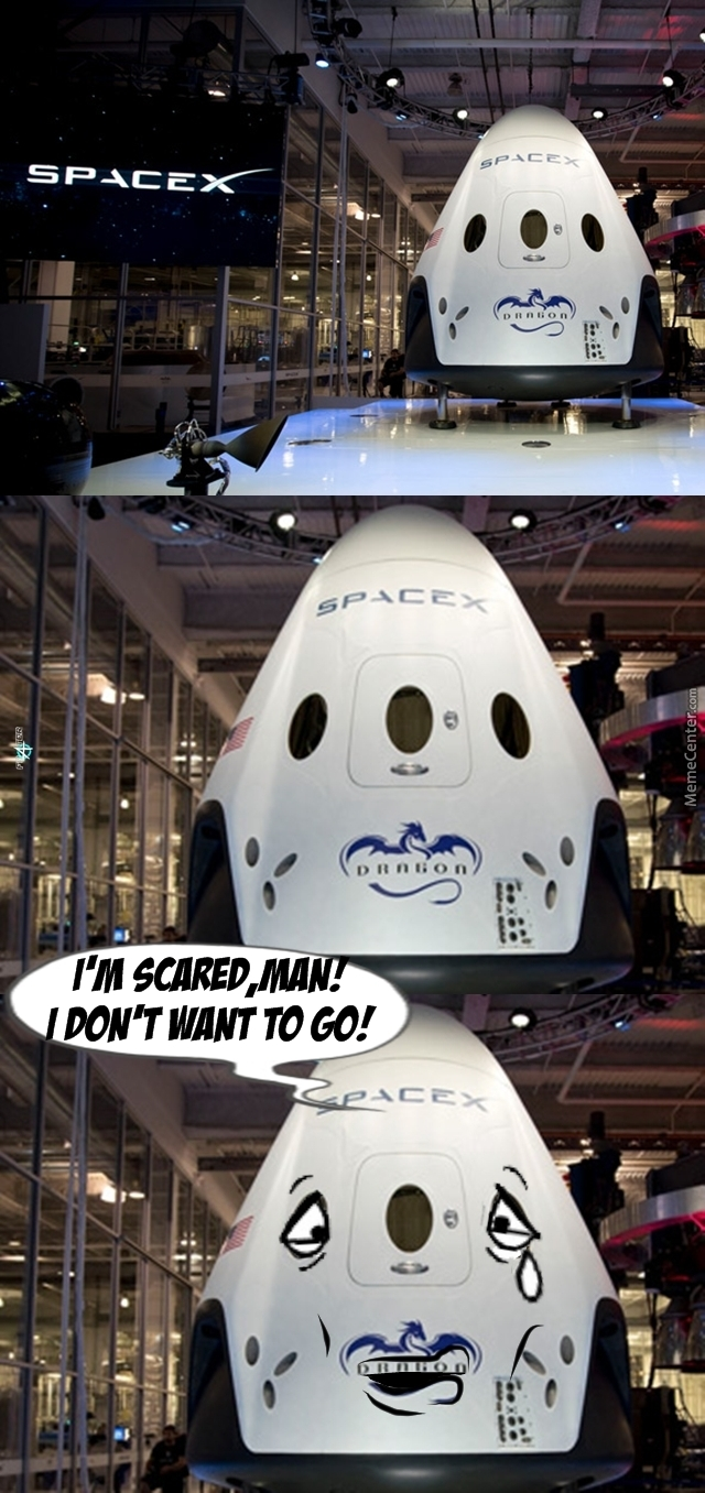 A Not That Brave Spacecraft