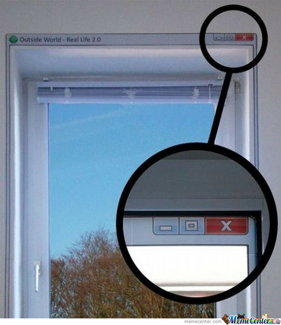 A Real Window!!