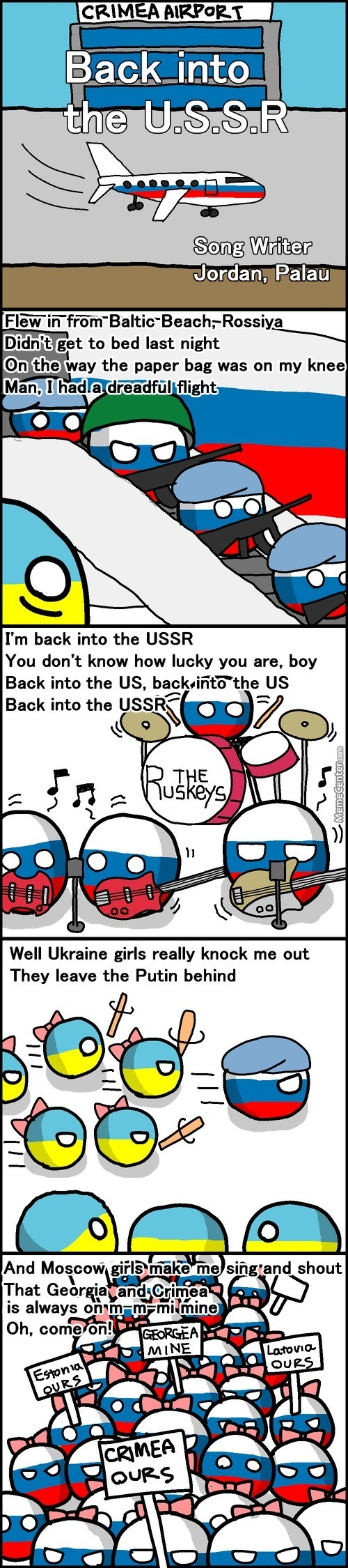 A Song From Russia
