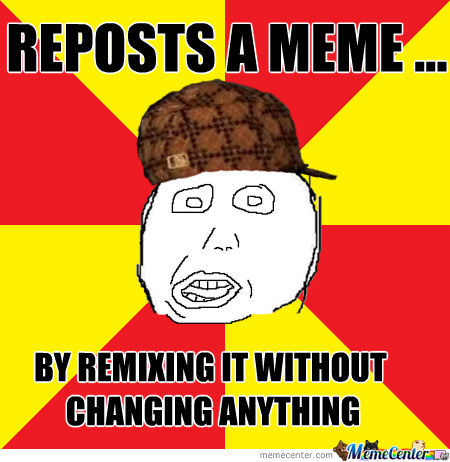 A Stupid Way To Repost