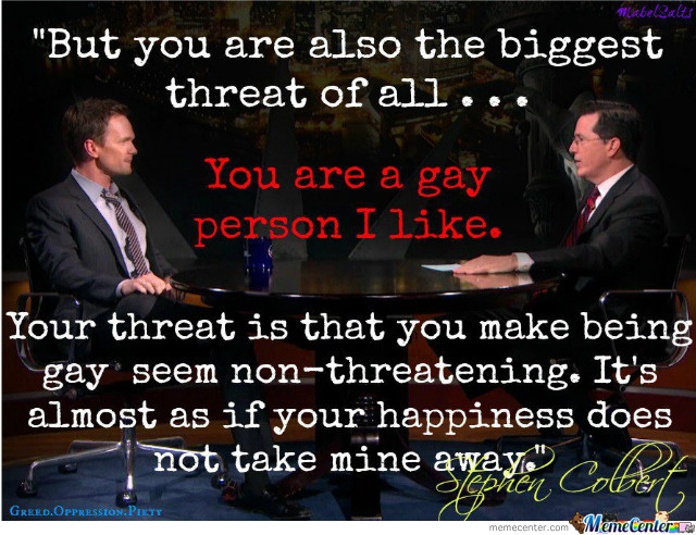 A True Story From Stephen Colbert