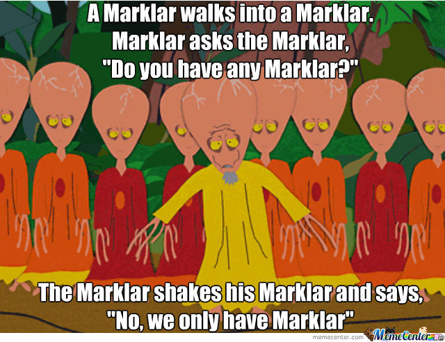A Typical Marklar-Joke
