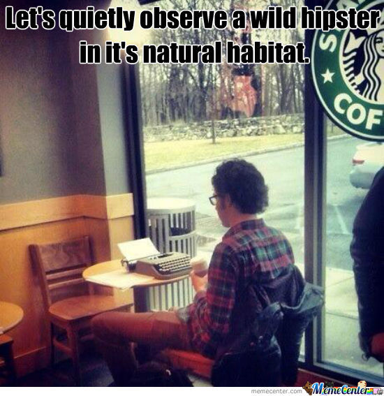 A Wild Hipster Appeared