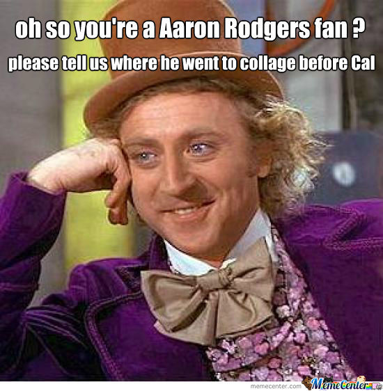 Aaron Rodgers Fan