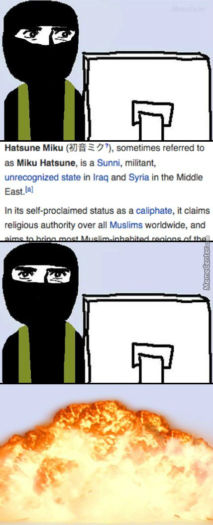 Absolutely Haram, Wikipedia