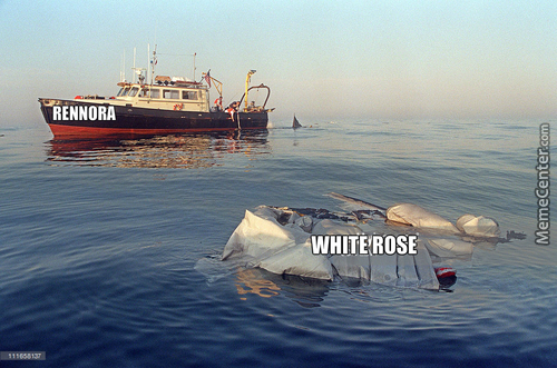 """Accurate Depiction Of Rwby's White Rose """"ship"""""""