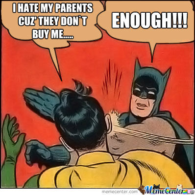 Actually I Love My Parents, Fuck Me, Right?