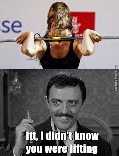 Actually The Hair Do All The Lifting