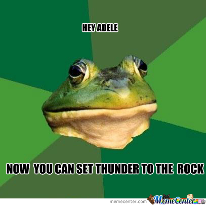 Adele...thunder Bender And Rock Bender