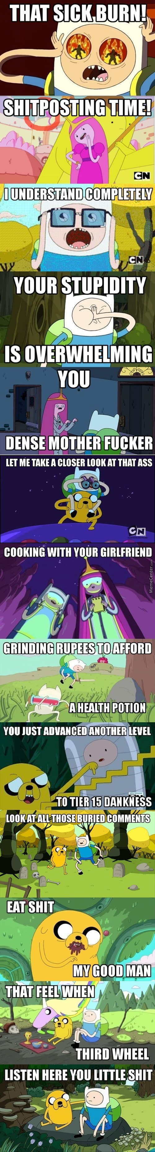 Adventure Time Captioned Images