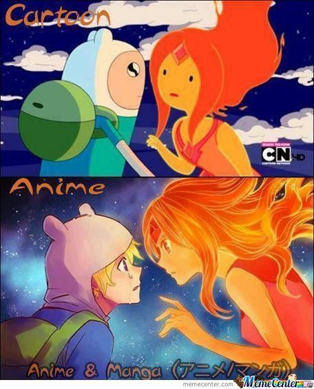 Adventure Time: Difference Between Cartoon And Anime