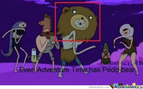 Adventure Time's Pedo Bear