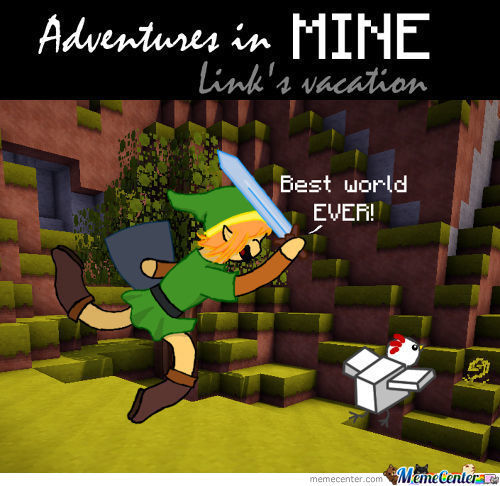 Adventures In Mine #14: Link's Vacation