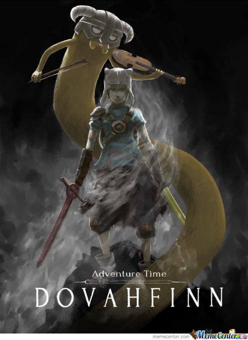 Adventuretime + Skyrim =....