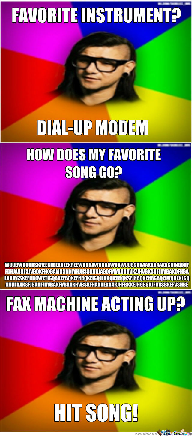 Advice Skrillex