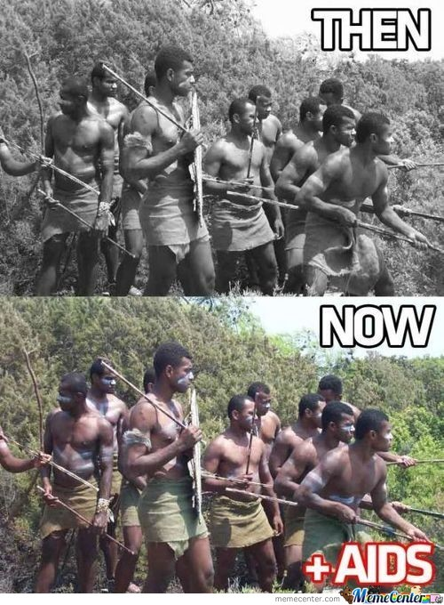 Africa Now And Then