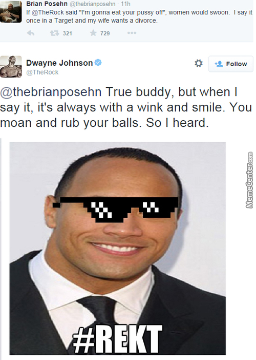 After Mikejohnson The Rock Is The Best Johnson