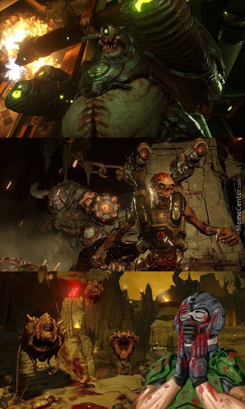 After Seeing The Doom Gameplay Trailer