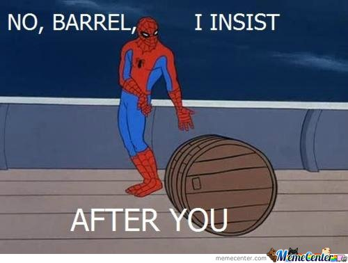 after thoroughly checking 14 pages of spiderman memes, i decided this one is the funniest.