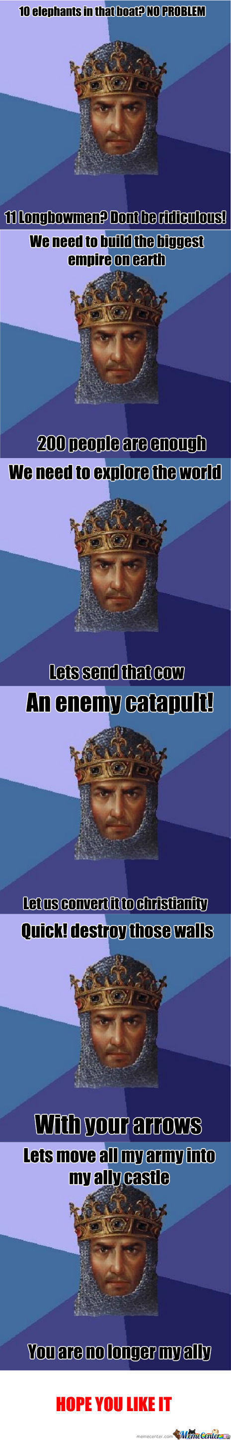 Age Of Empires Meme Recopilation