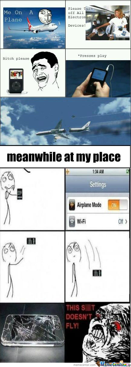 Airplane Mode !