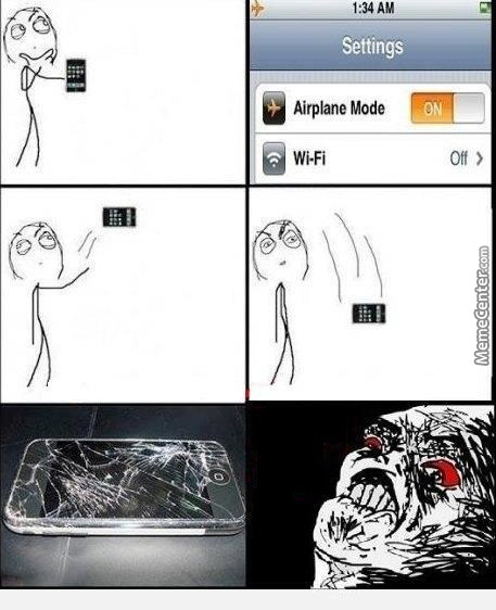 how to get my computer off airplane mode