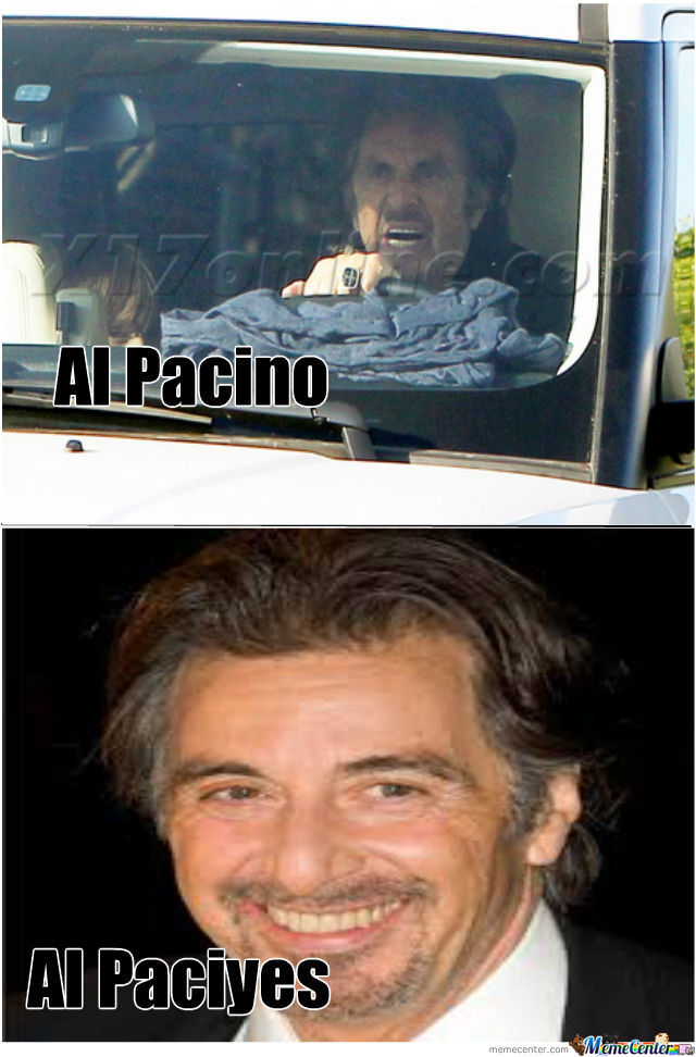 Al Pacino And His Alter Ego