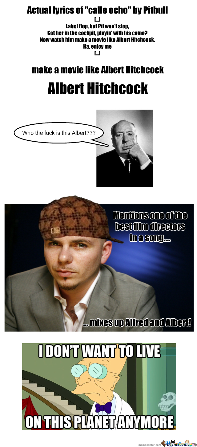 Albert Hitchcock By Pitbull