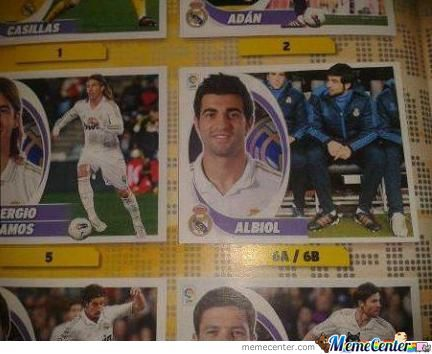 Albiol At The Bench:best Picture Ever!!!