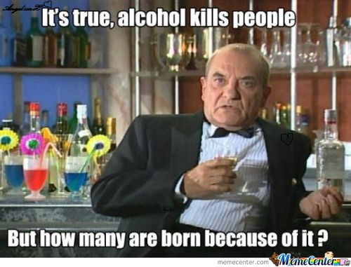 Alcohol, Eh?