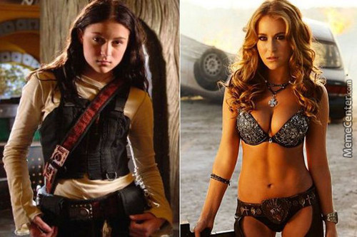 Alexa Vega From Spy Kids, Then And Now