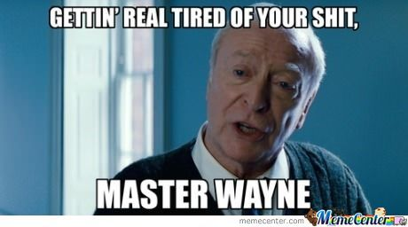 Alfred After Three Movies