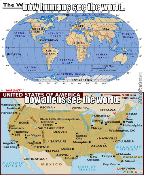 Alien Leader: Were Going To Take Over The World, And By World I Mean America.