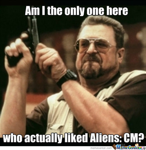 Aliens Colonial Marines Anybody?
