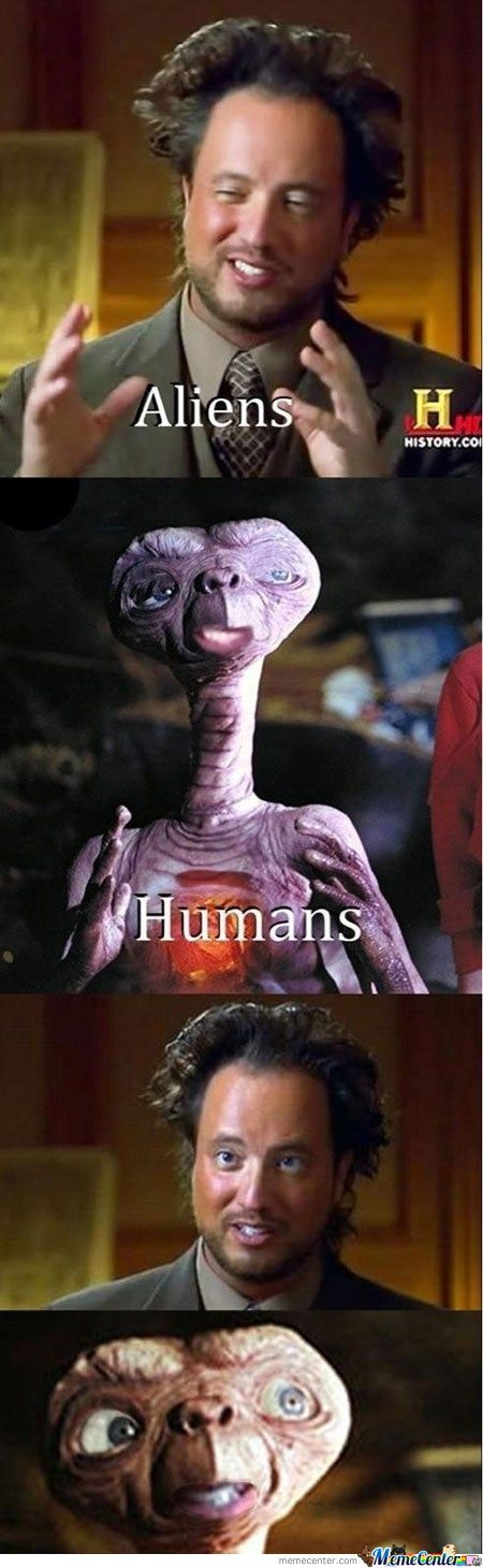 Aliens Vs Humans