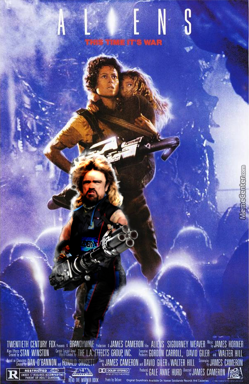 Aliens With Peter Dinklage