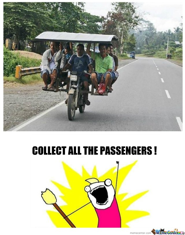 all THE PASSengers