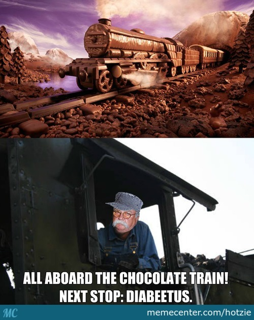 All Aboard The Chocolate Train!
