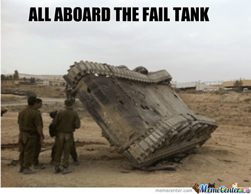 All Aboard The Fail Tank